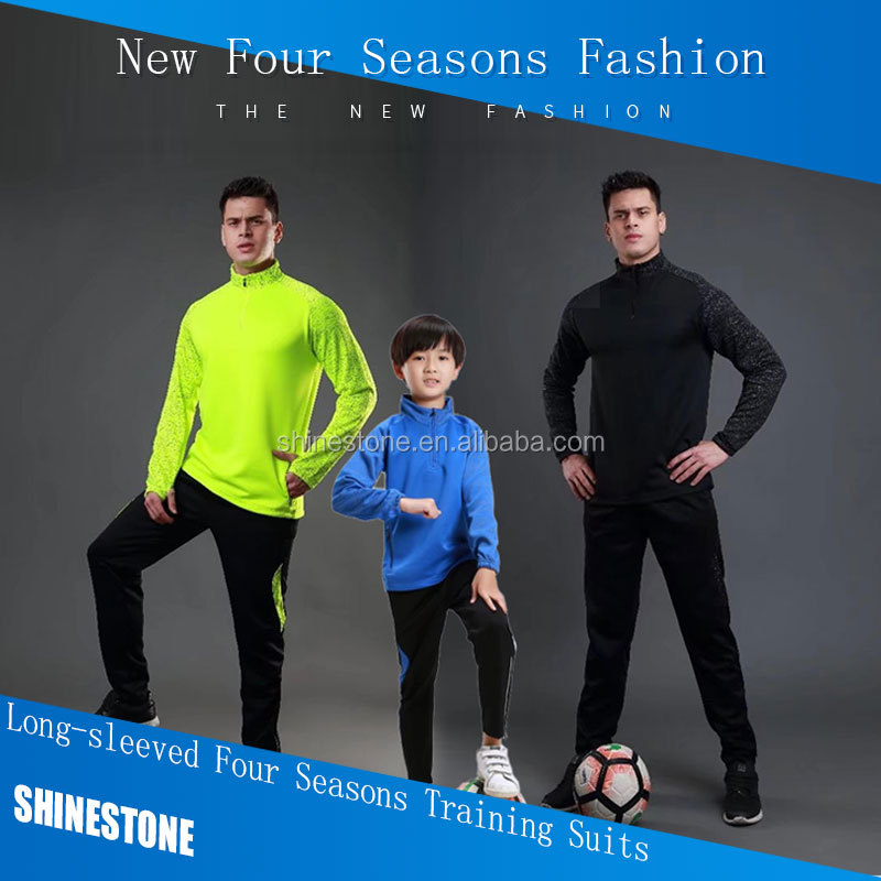 Wholesale men sport wear tracksuit fitness gym clothing four seasons custom training suits
