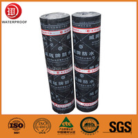 self-adhesive polymer modified bitumen pe membrane waterproof membrane