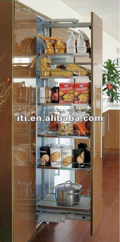 Cocina De Alta Tire Gabinete Despensa Mobiliario De Cocina Identificaci N Del Producto