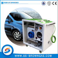 Driving Fuel Car Engine Carbon Cleaning
