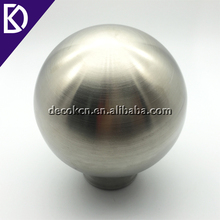 "4"" 6"" 8"" 10"" 12"" 16"" 18"" silver mirror polished matte finish stainless steel hollow ball for outdoor sculpture"