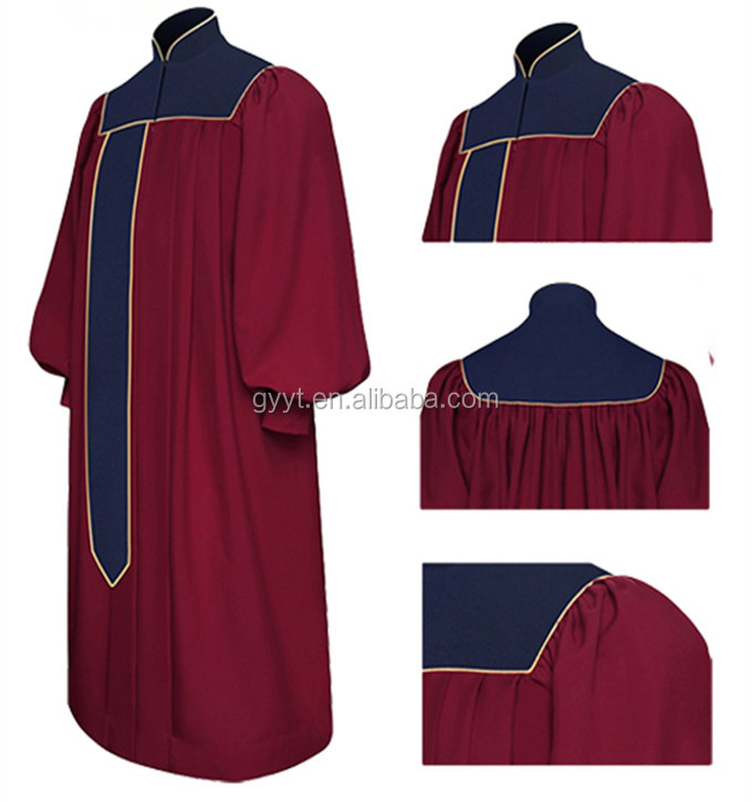 Fashionable Church Pulpit Designs Chasuble Choir Gowns - Buy ...