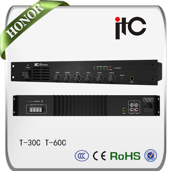 ITC T-60C PA system harga power amplifier extreme