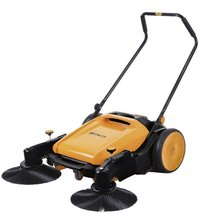Hand push road sweeper, small street sweeper, hand push sweeper