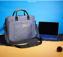 New Design 4 colors option 13/14/15.6/17 inch notebook computer Bag portable Shoulder Bag Man & women Messenger Laptop Bag