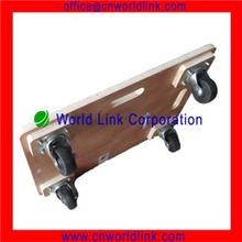 High Quality 4-Wheels Rolling Wood Plant Dolly