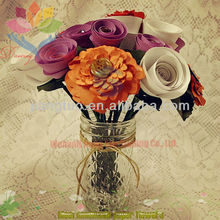 2013 graceful mini paper craft rose flower