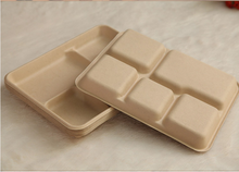 Wholesale Recycled Bamboo Plates Disposable Bagasse Tableware