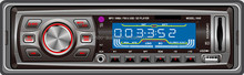 Multi-color LCD and WMA/ID3 car stereo cassette mp3 player with usb