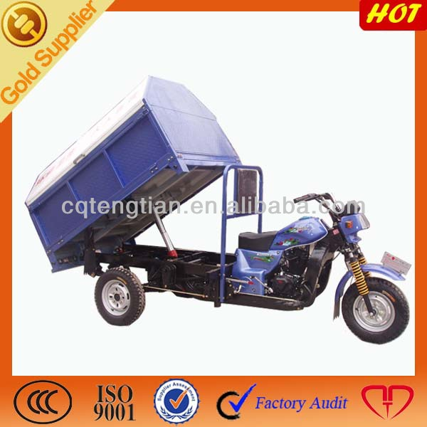Rubbish Hydraulic Dump Motor Tricycle