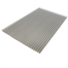 Free sample 10mm plastic polycarbonate hollow sheet for roofing cover