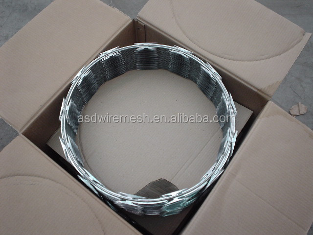 razor barbed wire(BTO-22)(factory)