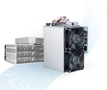Stock chipset 7nm SHA256 Hashrate 23TH mining machine Bitmain Antminer T15 BTC miner