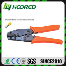 "8"" Ratchet crimping plier 0.25 - 6.0mm2 AWG 24 - 10 terminals crimping tools multi crimping pliers"
