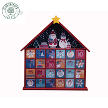 Walmart Factory Audit Christmas Decorating Wooden Advent Calendar For Christmas promotion item