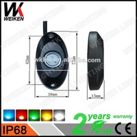 WEIKEN motor parts accessories 6 pod led rock light/led deck light used motorcycles for sale
