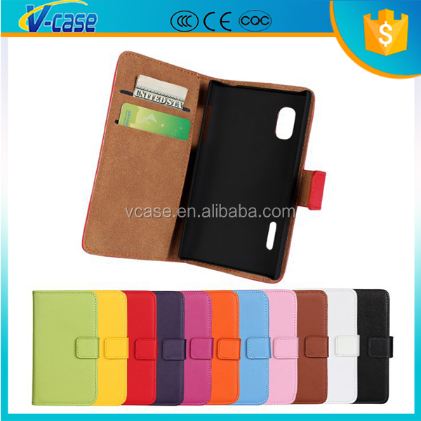 Hot selling PU Material Leather case cover for lg p760 optimus l9 p765