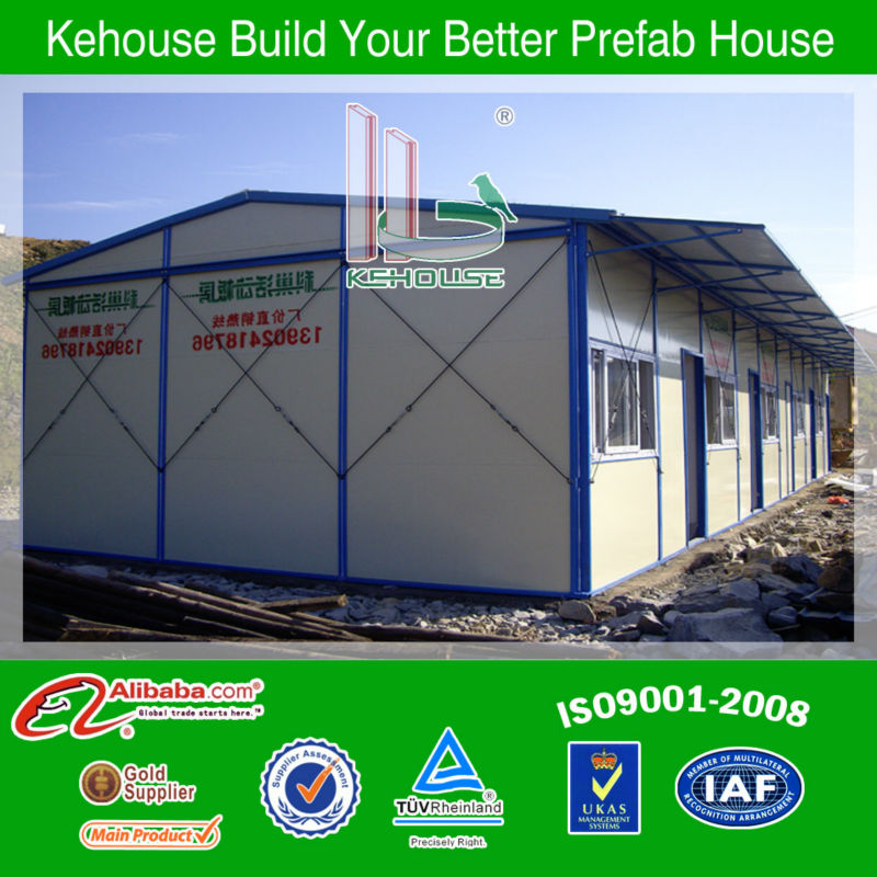 prefab wooden house bungalow/home factory/steel structure house for sales 2015