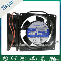 low speed ac axial fan 100v-240v, dual voltage