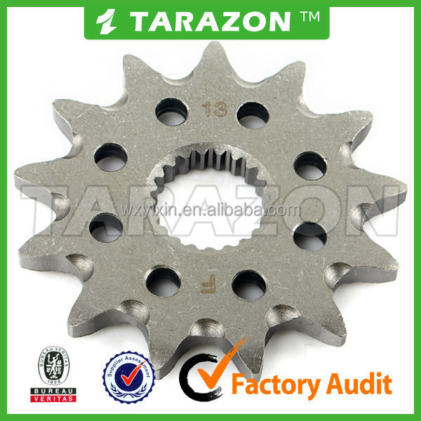 Novel item high quality motorcycle chain sprocket price for CR125R