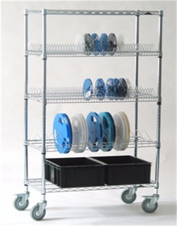 Factory directly sell high quality ESD SMT Component Reel Storage cart/cart for Storage storing PCB