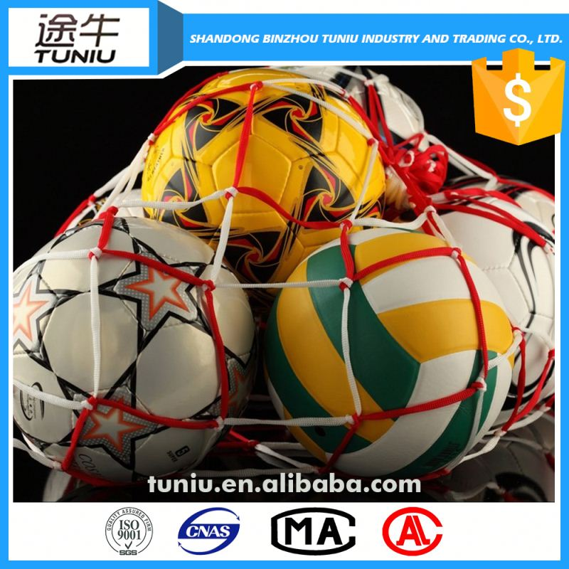 nylon football mesh bag