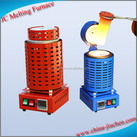 1kg/2kg/3kg Small / Portable Gold melting Furnace, Laboratory Furnaces for Jewelry Making Supplies