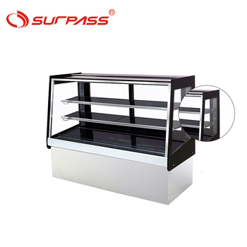 Bakery display equipment price for cake fridge sandwich cooler
