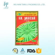 factory for customized printed laminated vegetable seed packets
