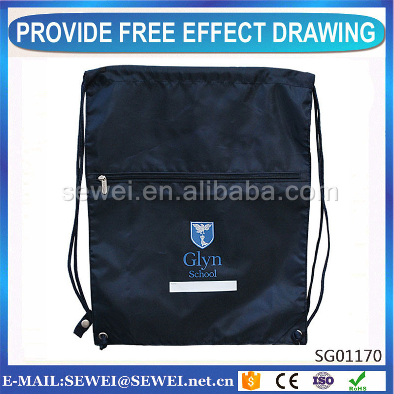 China Best large drawstring bag From supplier
