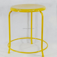 cheap good quality colorful round dining room chair