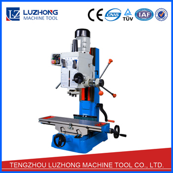 milling machine drilling