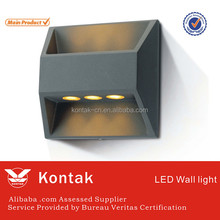 PC diffuser 6w high quality led wall lights with ledlink lens 3 years guaranty