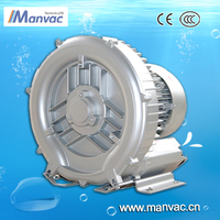 430mbar sea water desalination machine used high pressure one stage electric vacuum air blower