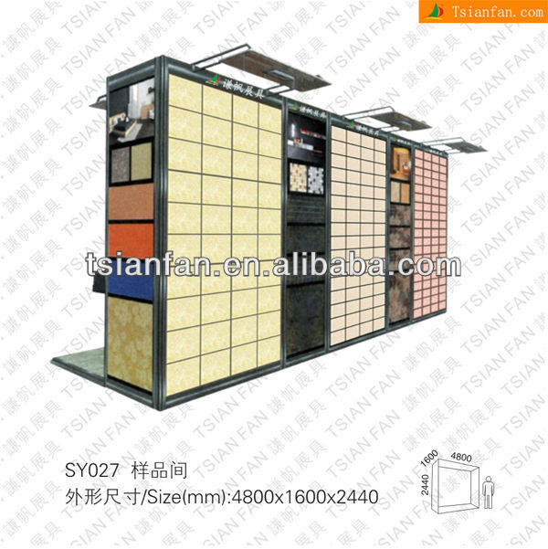 Ceramic Tile Sample Display Stand for showroom/showroom display stand for marble and granite tiles-SY027