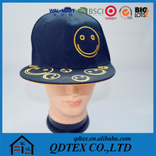 Hot selling cap snapback,new design custom embroidery yupoong snapback cap,softtextile cap snapback