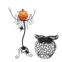 Halloween Garden Decoration metal pumpkin for sale