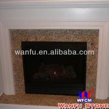 Indoor Marble Granite Fireplace Hearth Slabs