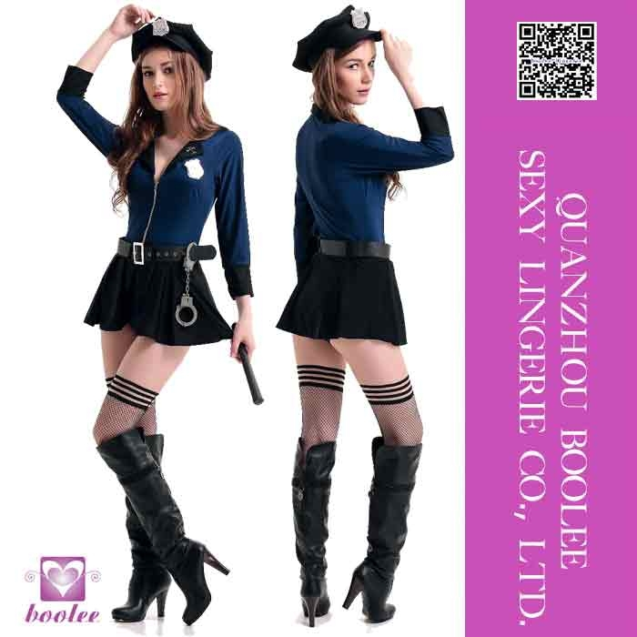 New fashion super sexy cheap Sexy police unifrom Sexy halloween costumes for women