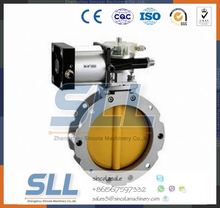Henan Manually Rubber Lined Butterfly Valve
