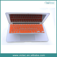 Laptop silicone color keyboard protector for Macbook Air Pro