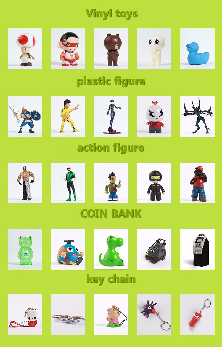 Custom Flash monster holder skateboard vinyl figures/vinyl figures manufacturer /OEM PVC custom vinyl figure