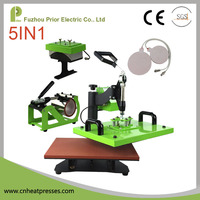 New Digital Heat Press Machine Transfer Sublimation T-shirt Mug Hat Plate Cap Printing Machine
