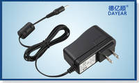 Wall mount 12V 1.5A 18W AC DC power adapter for Laptop