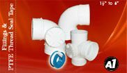uPVC pipe, fittings, Teflon tape and other plumbing related products