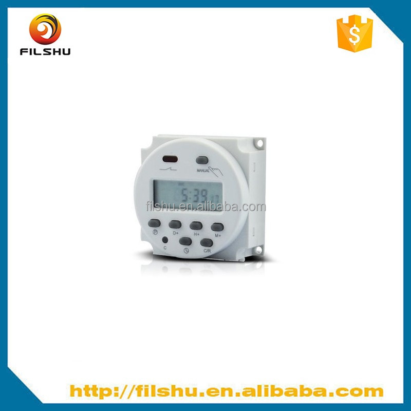DC 12V Digital LCD Programmable Timer Time Switch