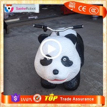 Wow! So Cute Panda Car ! electric kids animal ride for mall