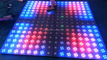 RK cheap interactive orange floor tile used led dance floor for sale