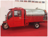 Fire Extinguisher Trolley Water Delivery Tricycle 125cc 200cc Three Wheeler