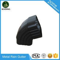 New design metal water gutter,metal gutter fittings made in China